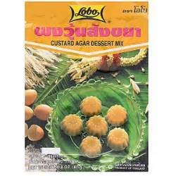 Lobo Agar Dessert Mix Almond 130gr custard agar dessert mix lobo 187 temple of thai