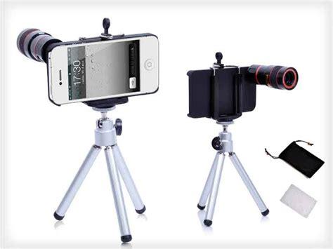 Lensa Tele 8x Zoom Tripod Mini Holder Best Seller Berkualitas 1 8x zoom telescope lens kit 4 iphone 4 4s sales we the best daily deals