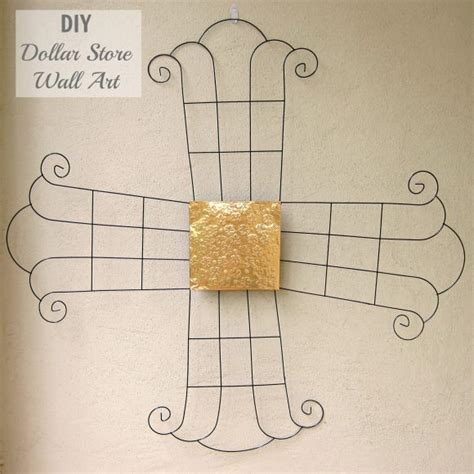 top diy dollar store wall art make your own metal wall with dollar items 187 dollar store crafts