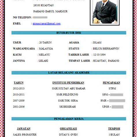 contoh resume terbaik dalam bahasa melayu