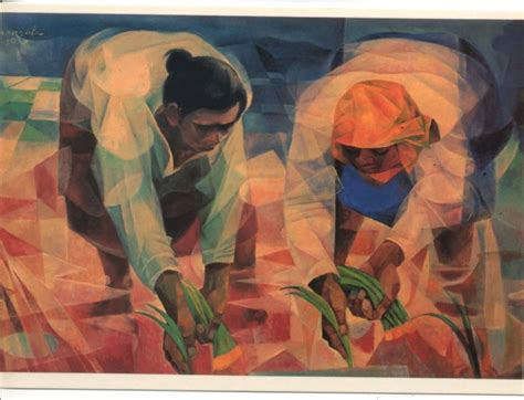biography of filipino artist and their works vicente manansala from the philippines philippine