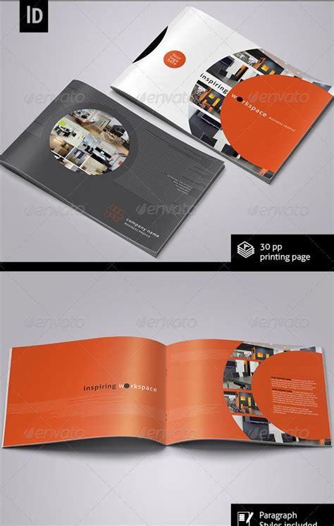 horizontal brochure template 30 best brochure templates 2013 web graphic design