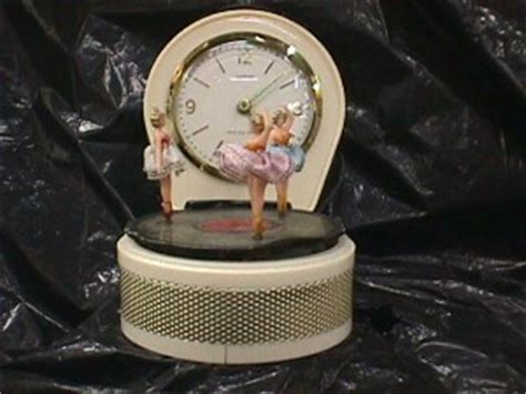beautiful dancing ballerina clock jack berg sales