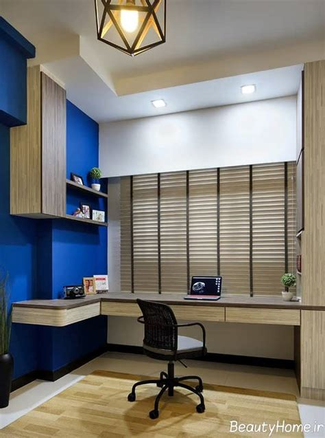 طراحی داخلی اتاق مطالعه برای ایجاد فضای یادگیری مناسب