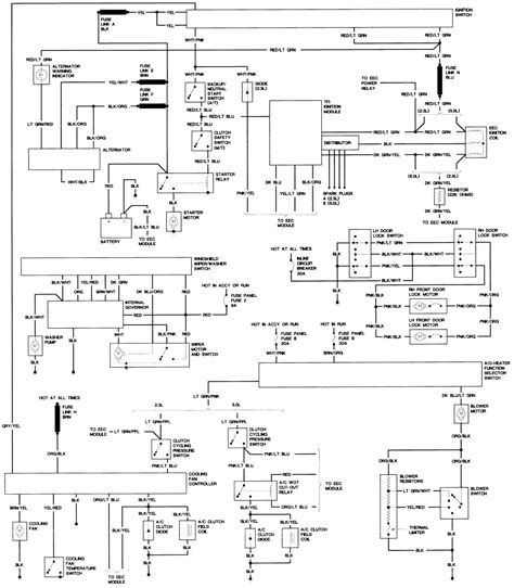 1987 mustang wiring diagram 1987 mustang alternator wiring forums at modded mustangs