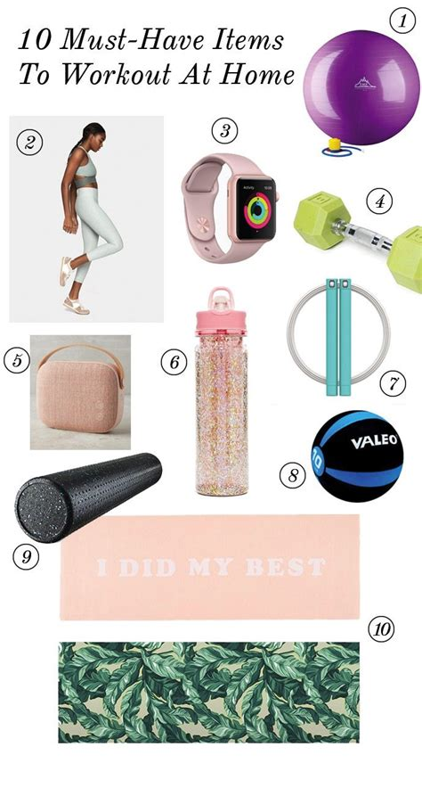 must have household items 10 must have items for an at home workout glitter guide