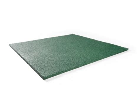 rubber sting mat fitness mat 20mm heavy duty green floor mating