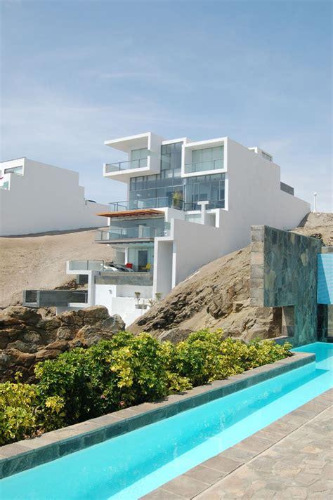 contemporary beach house  terraces idesignarch
