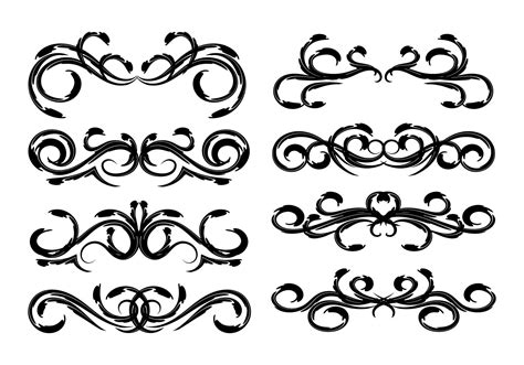 free clipart vector free vintage floral decoration vector free