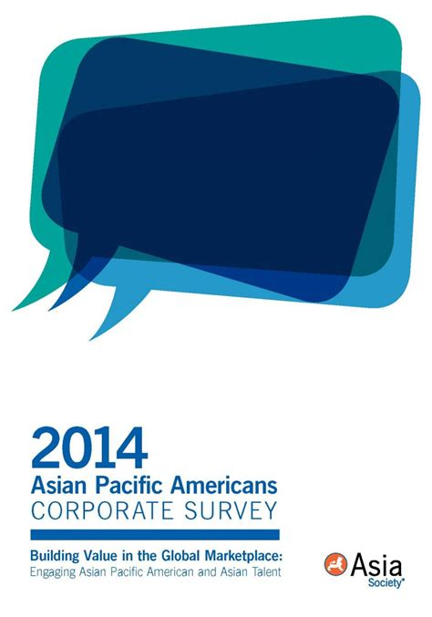 asian pacific americans corporate survey asia society
