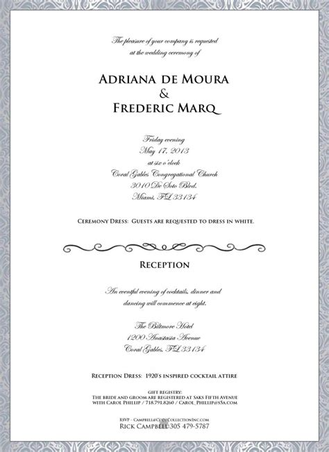 Wedding Invitations Dress Code by Wedding Invitation Wording Wedding Invitation Wording