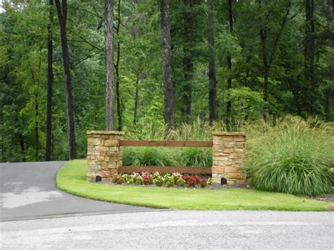 larson driveway entrance landscaping quality creative landscaping llc