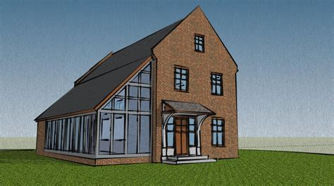 Global House Plans Various Sketchup Houses Mark Einselen Archinect
