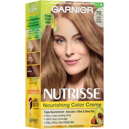 garnier fructis hair dye colors garnier nutrisse nourishing color creme hair color 72