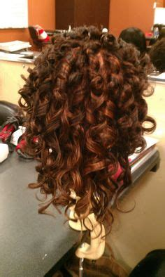 spiral perm diy spiral perms on pinterest spiral perms loose spiral