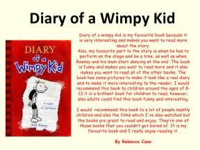 Diary Of A Wimpy Kid Book Report Book Reviews Y7 To 9