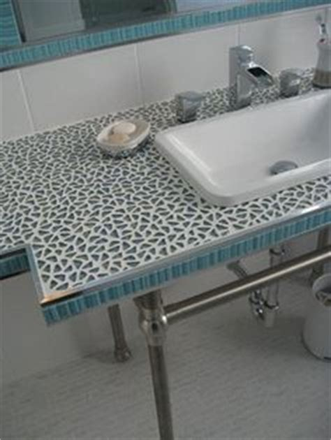 Mosaic Tile Bar Top by 1000 Images About Bath Countertop Ideas On
