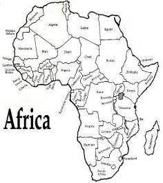 Printable Map Of Africa by Printable African Map With Countries Labled Free