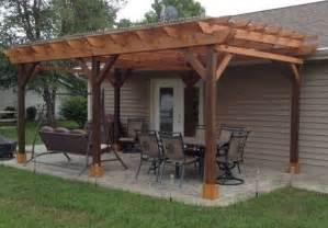 Pergolas Plans by Covered Pergola Plans 12x24 Outside Patio Wood Design