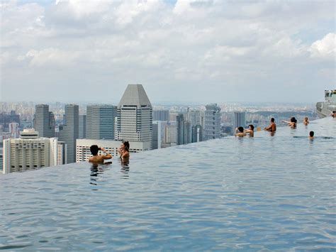 Ship From Infinity The Takeoff highest and largest infinity pool in the world at