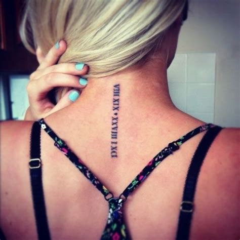 tattoo placement for dates tatuajes de n 250 meros romanos origen ideas y significado