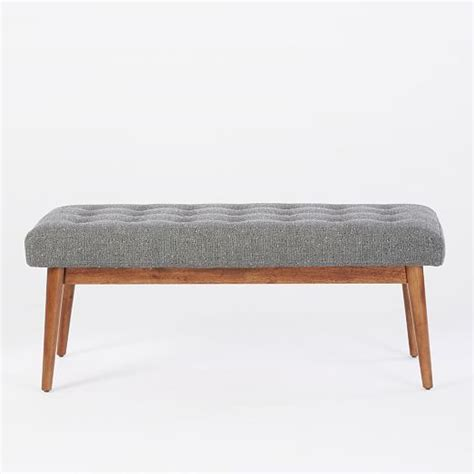 from the bench account mid century bench west elm