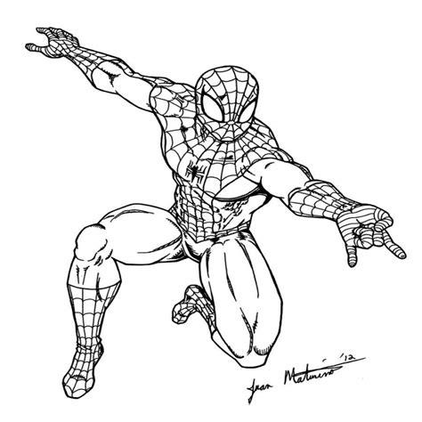 disegni di supereroi da colorare e stare