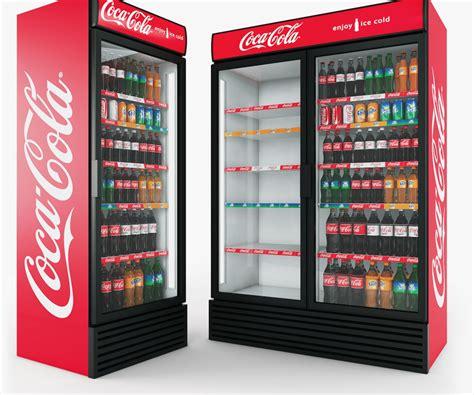 Kulkas Retro Coca Cola Refrigerator In Indoor Used Imbera Coca Cola