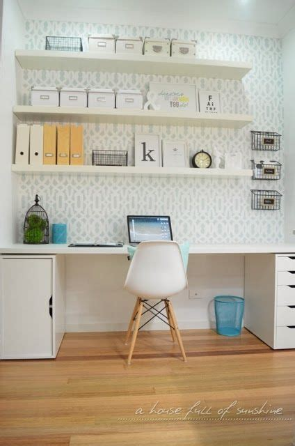 floating desk with storage ikea 281 best images about organized home office on pinterest