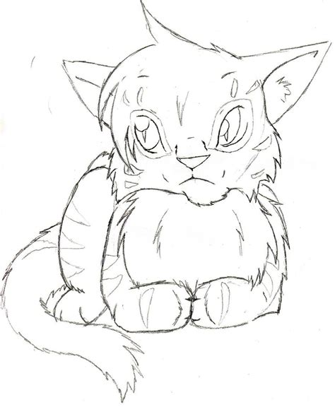 warrior cats coloring pages free feathertail by tigon on deviantart warrior cats coloring