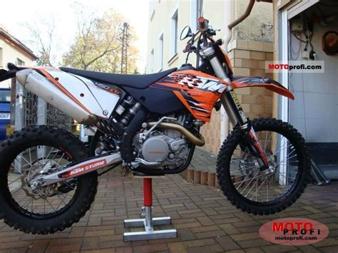 2010 Ktm 450 Exc Specs Ktm 450 Exc 2010 Specs And Photos