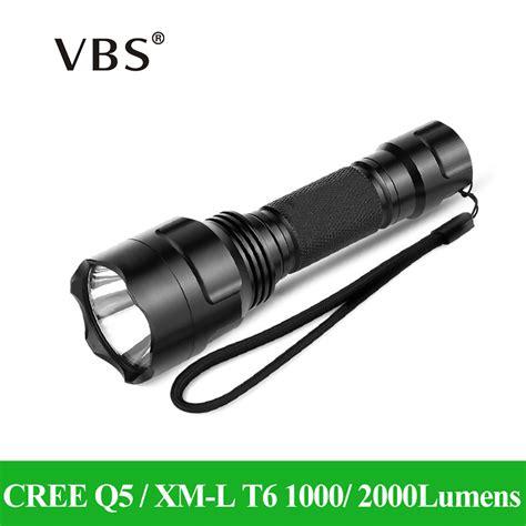 Led Cree 6 Mata led flashlight cree q5 xm l t6 1000lm 2000lumens torch