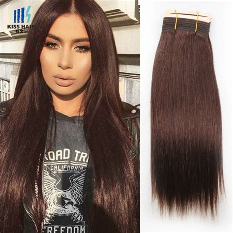 Medium Chocolate Brown Hair Extensions Remy Indian Hair 300g Color 4 Brown Medium Brown Chocolate Brown Mink Hair Extensions Silk