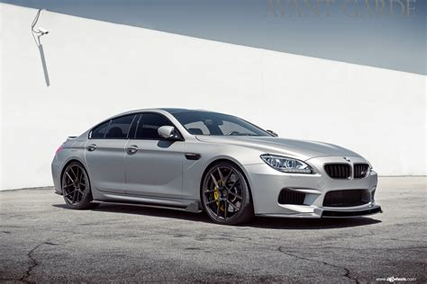 bmw gran coupe m6 cleanly modded bmw m6 gran coupe on avantgarde wheels