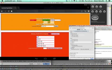 android studio tutorial android studio primer tutorial robert metcalfe