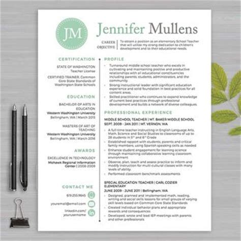 resume templates for educators 17 best ideas about resumes on