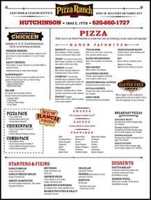 pizza ranch buffet menu pizza ranch hutchinson ks 67501 1102 yellowbook