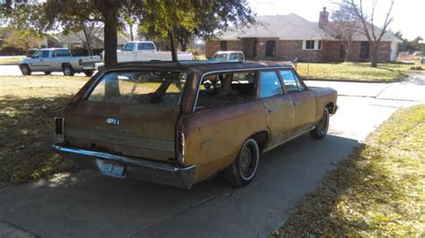 malibu wagon parts 1966 chevelle malibu station wagon project car or