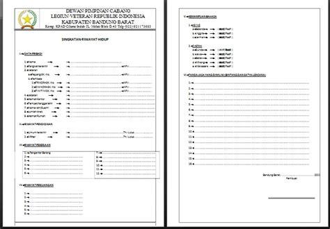 contoh format biodata taaruf contoh format biodata veteran apachemask s blog