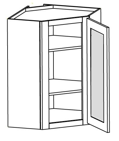 Shaker Cabinet Doors With Glass White Shaker Cabinets Wall Glass Door Corner Cabinet 24 Quot W X 36 Quot H X 12 Quot D 1d 2s Right Hinged