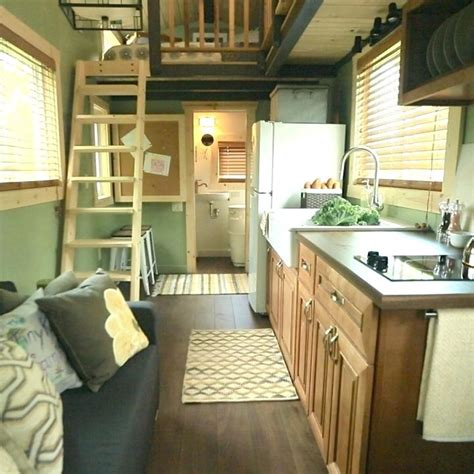 tiny homes interior vintage kitchen heritage by summit