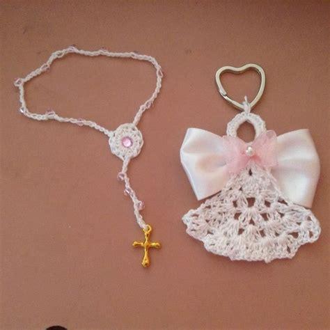 como hacer rosarios para recuerdos de bautizo o primera comuni 243 n recuerdos para bautizo primera comuni 243 n etc mis tejidos