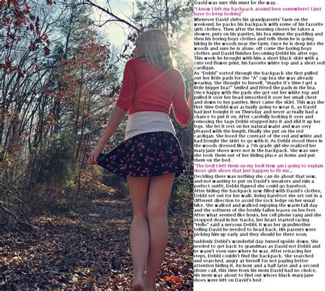by priya captions 31 oct 2012 pg rated tg captions lost in the woods