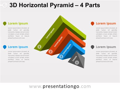 3d Home Design Software Free Australia 3d horizontal pyramid for powerpoint presentationgo com