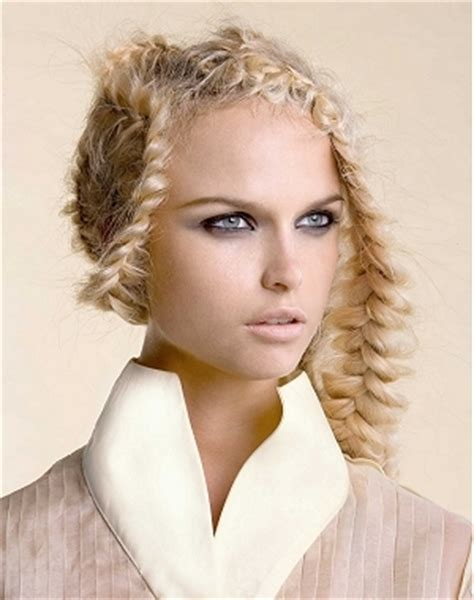 edgy hairstyles with braids