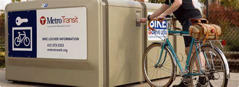bike lockers metro transit