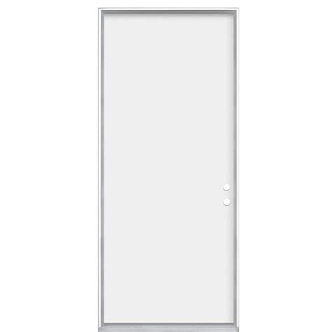 Flush Entry Door by Shop Masonite Flush Insulating Right Inswing