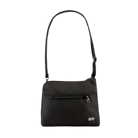 Bag Theft by Anti Theft Crossbody Bag Daysafe In Black By Pacsafe