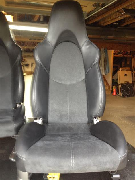 alcantara leather car seats leather alcantara heated sport seats rennlist discussion