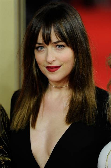 dakota johnson bangs 51 best dakota johnson images on pinterest 50 shades